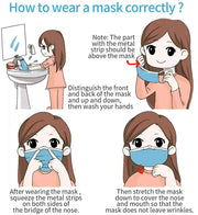 How to ware a mask