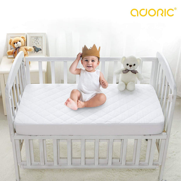 Waterproof Crib Mattress Pad Cover