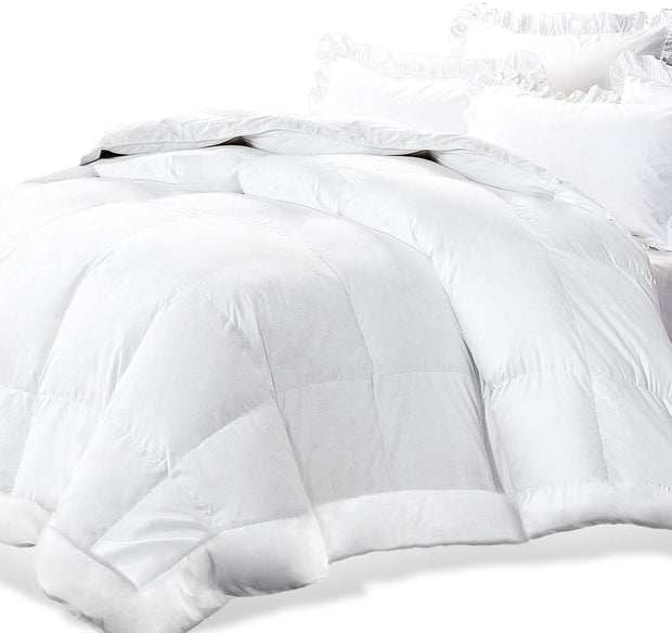 White Down Alternative Quilted Comforter