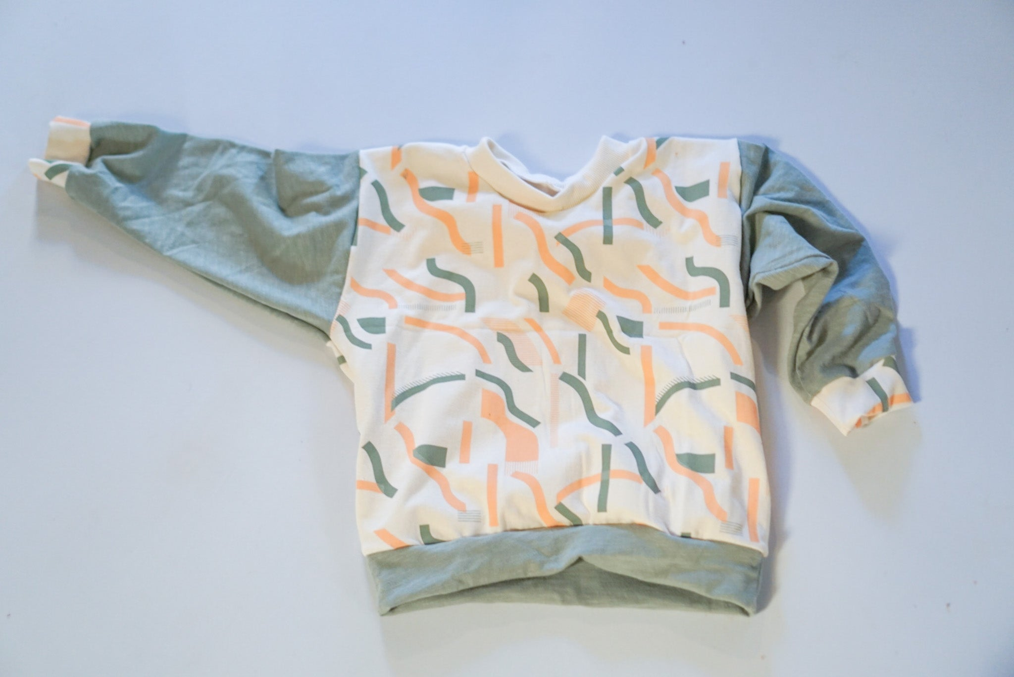 2-3T Peach Cobbler Lounge Sweater