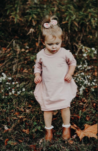 Blush Khole Bubble Dress