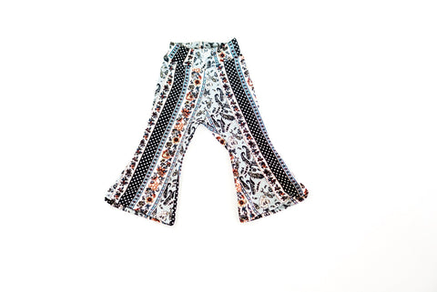 Paisley Bell Bottoms
