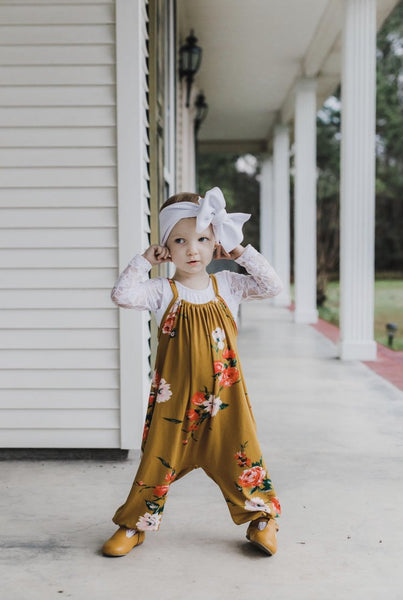 *mini* Dancing Meadow Boho Romper