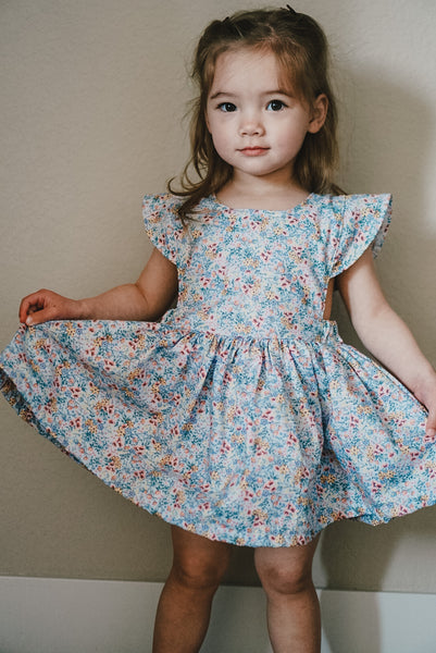 Cap Sleeve Floral Ruthie Dress