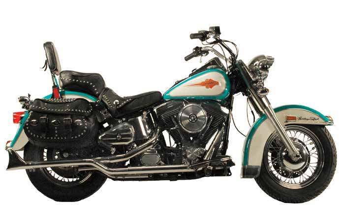 Headpipe Sets For 1984 - 1999 Evolution Softails