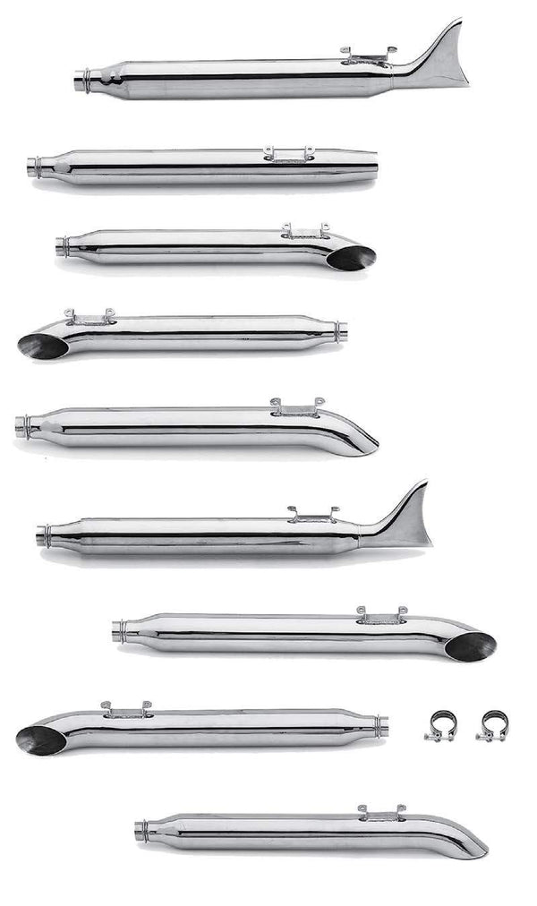 Mufflers For Late 1985-1994 Touring Models