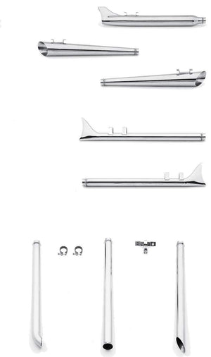 Mufflers and Tail Pipe ExtensionsFor Late 1985-1994 Touring Models