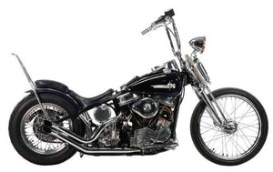 Panhead Upsweep 'S' Pipe Systems For 1948 - 1957 Rigid Frames