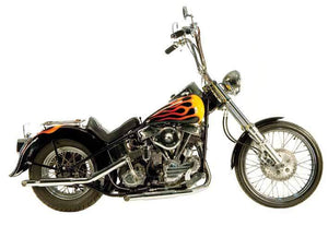 Panhead Over The Transmission Exhaust Systems For 1948-1964