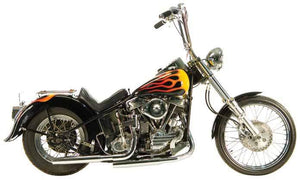 Panhead Exhaust Systems For 1948 - 1964