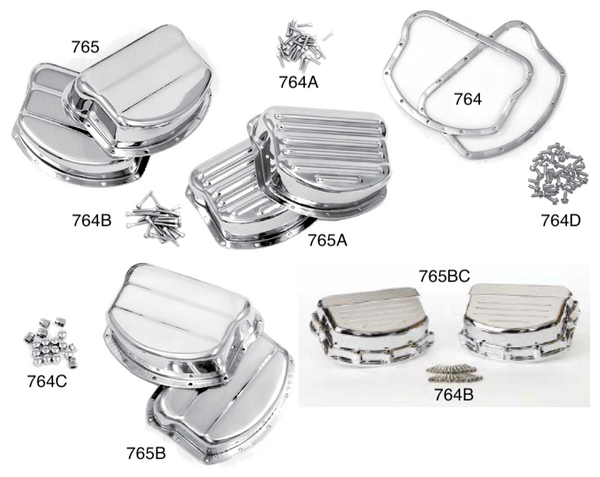 PANHEAD AND KNUCKLEHEAD ROCKER COVERS