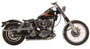Panhead Shotgun Exhaust Systems For 1958 - 1964