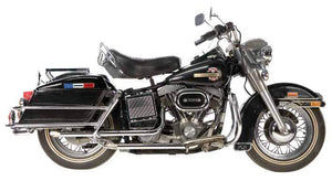 Shovelhead FL Models 'Mid-Length' Staggered Duals For 1970 - 1984 Electric Start Engines