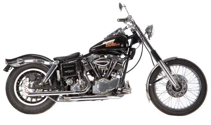 Shovelhead Close Fit Staggered Dual Exhaust Systems For 1966 - 1969 Swingarm Framess
