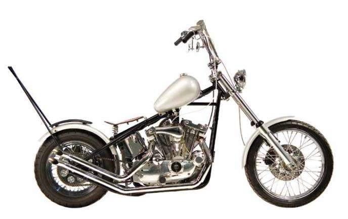 Upsweep Exhaust Systems For 1957 - 1985 Sportster Engines In Rigid Frames