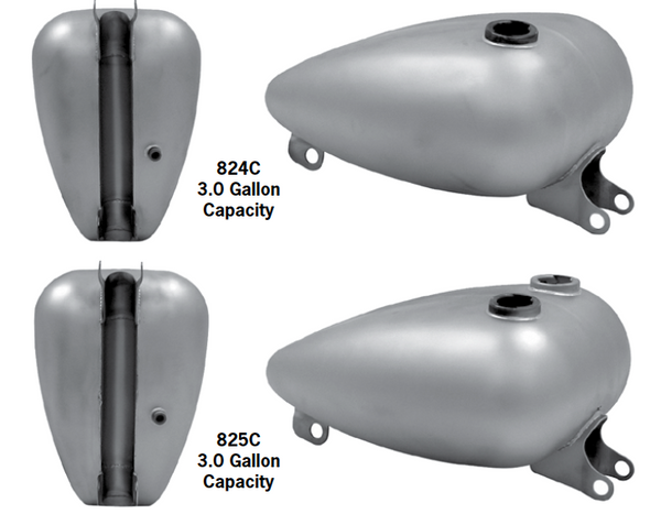 Mustang And Axed Tanks For 1995-2003 Sportsters