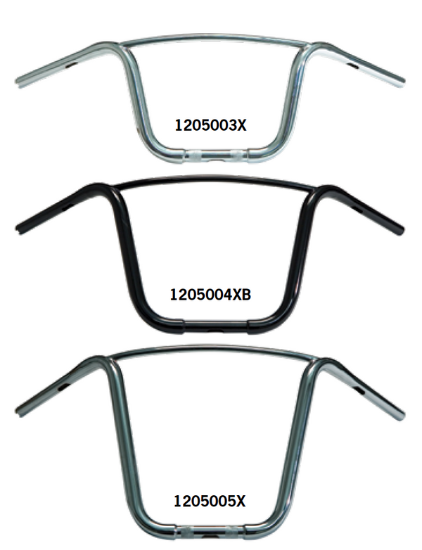 "1¼"" Apehangers With Crossbar"