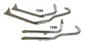 EXHAUST SYSTEMS FOR 'PROJECT 45' FRAMES