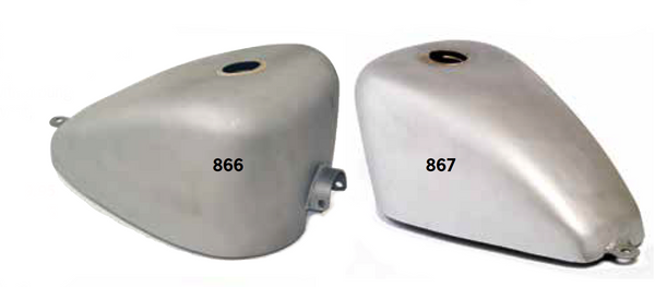 Standard And King Sportster Gas Tanks