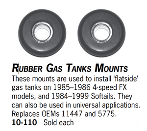Rubber Gas Tanks Mounts