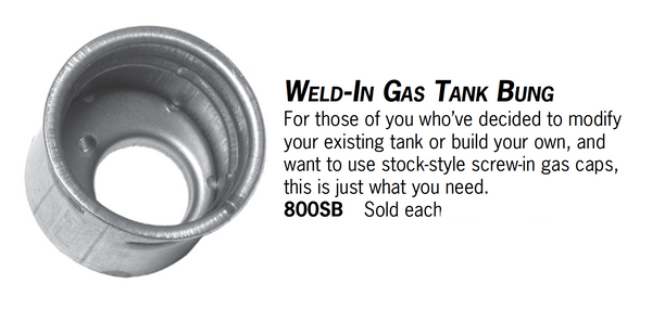 Weld-In Gas Tank Bung