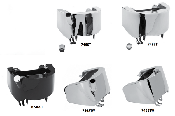 Wrap Around Oil Tanks For Softails And Paughco Easyride Or Rubber Mount Frames