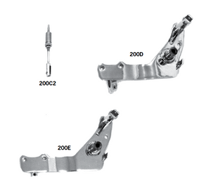 Brake Pedals And Backing Plates For  1983-1999 FXWG And FX Softail Models