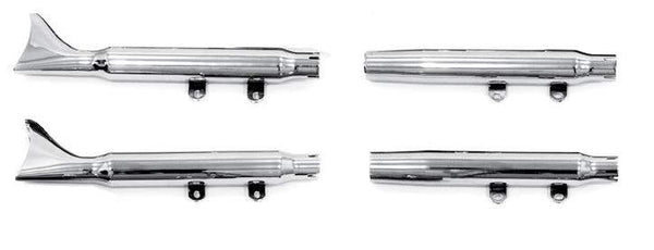 Shotgun Slip-On Mufflers For FLSTF And FLSTN