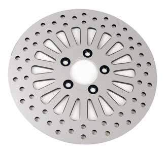 Polished Disc Brake Rotors
