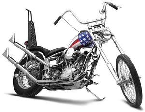 Captain America Sissy Bar