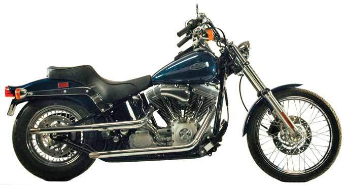 Drag Pipes For 1986 - 2011 Softails