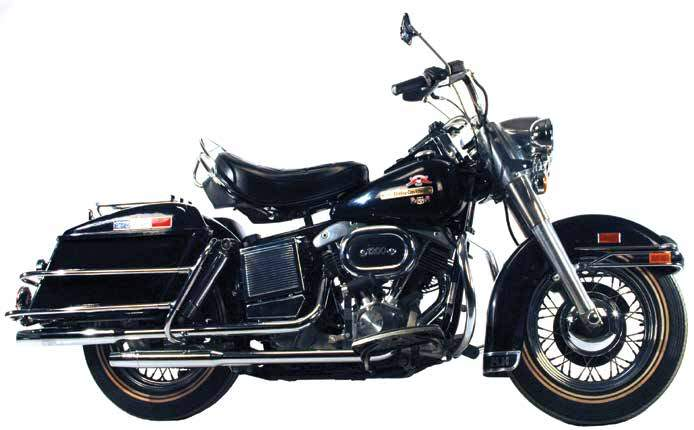 Shovelhead Powered FL Model Staggered Duals For 1970 - 1984 Electric Start 4-Speeds