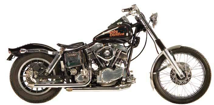 Shovelhead Staggered Dual Exhaust Systems For 1966 - 1969