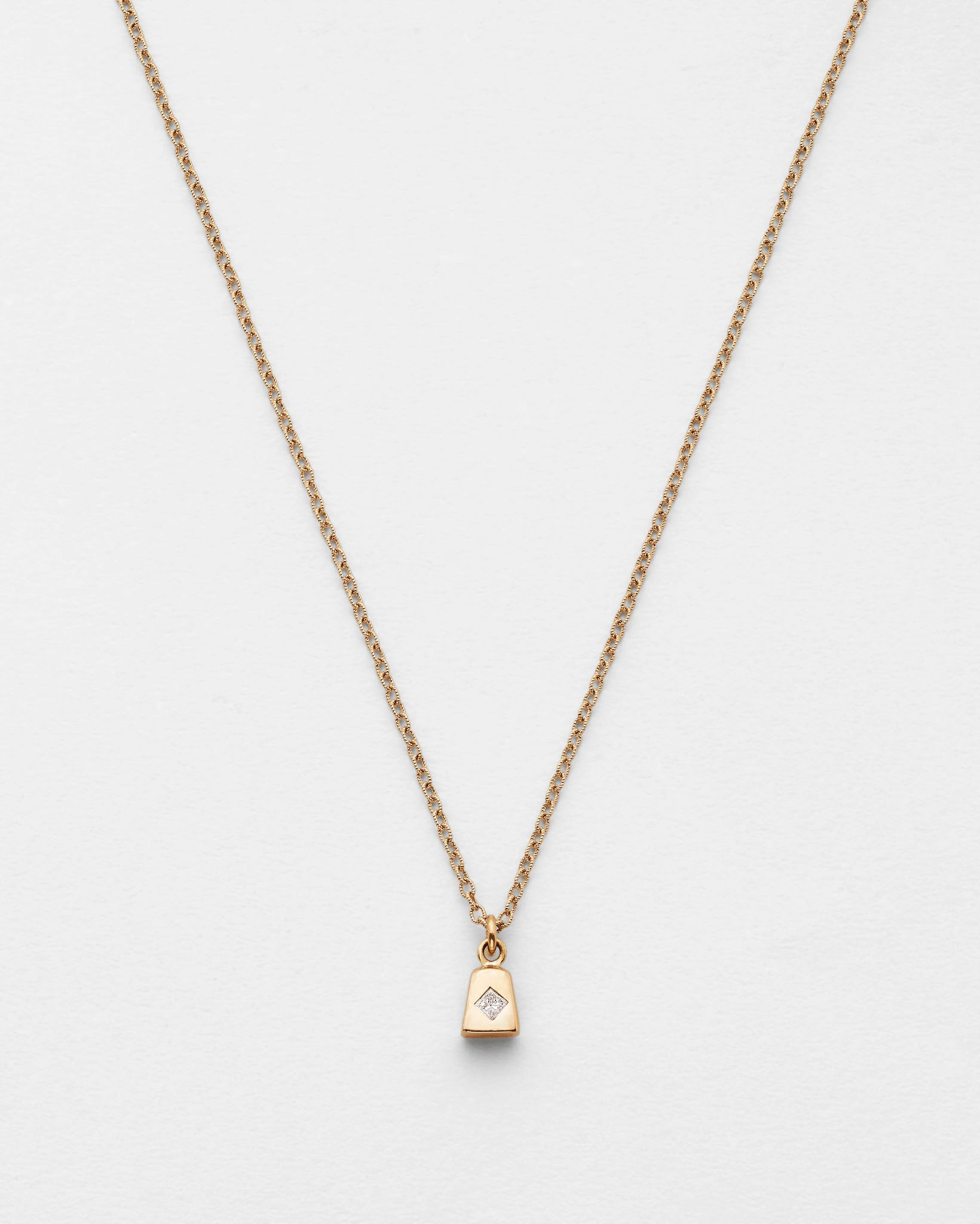 Chain Reaction Cowbell Necklace