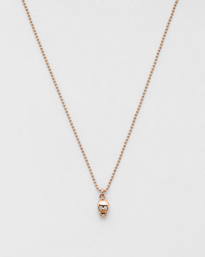 Chain Reaction Skull Necklace