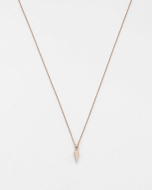 Chain Reaction Solo Pendulum Necklace