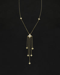 Libertine Jumbo Clover Chandelier Necklace