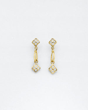 Small-Fleur Cirque Fleur Earrings