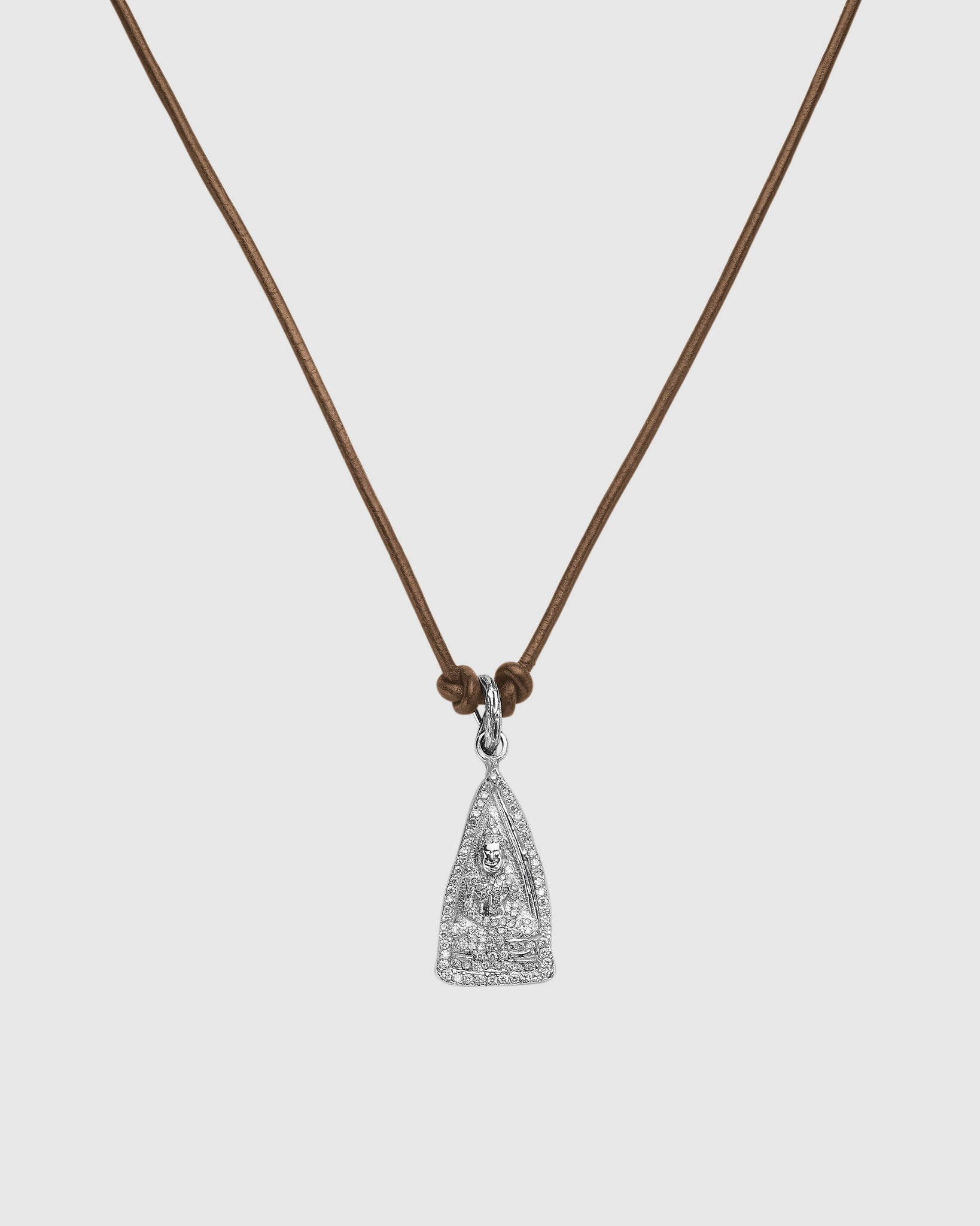 Black Butter Buddha Necklace