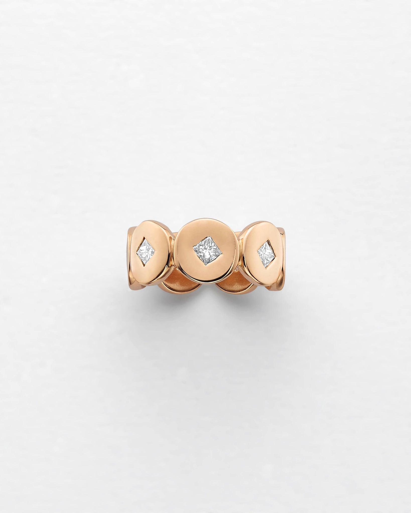 Medallion Eternity Ring