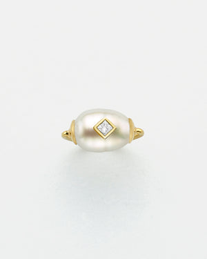 Baroque Princess Inlay Ring