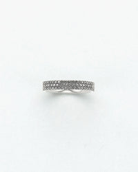 White Diamond Midi Ring