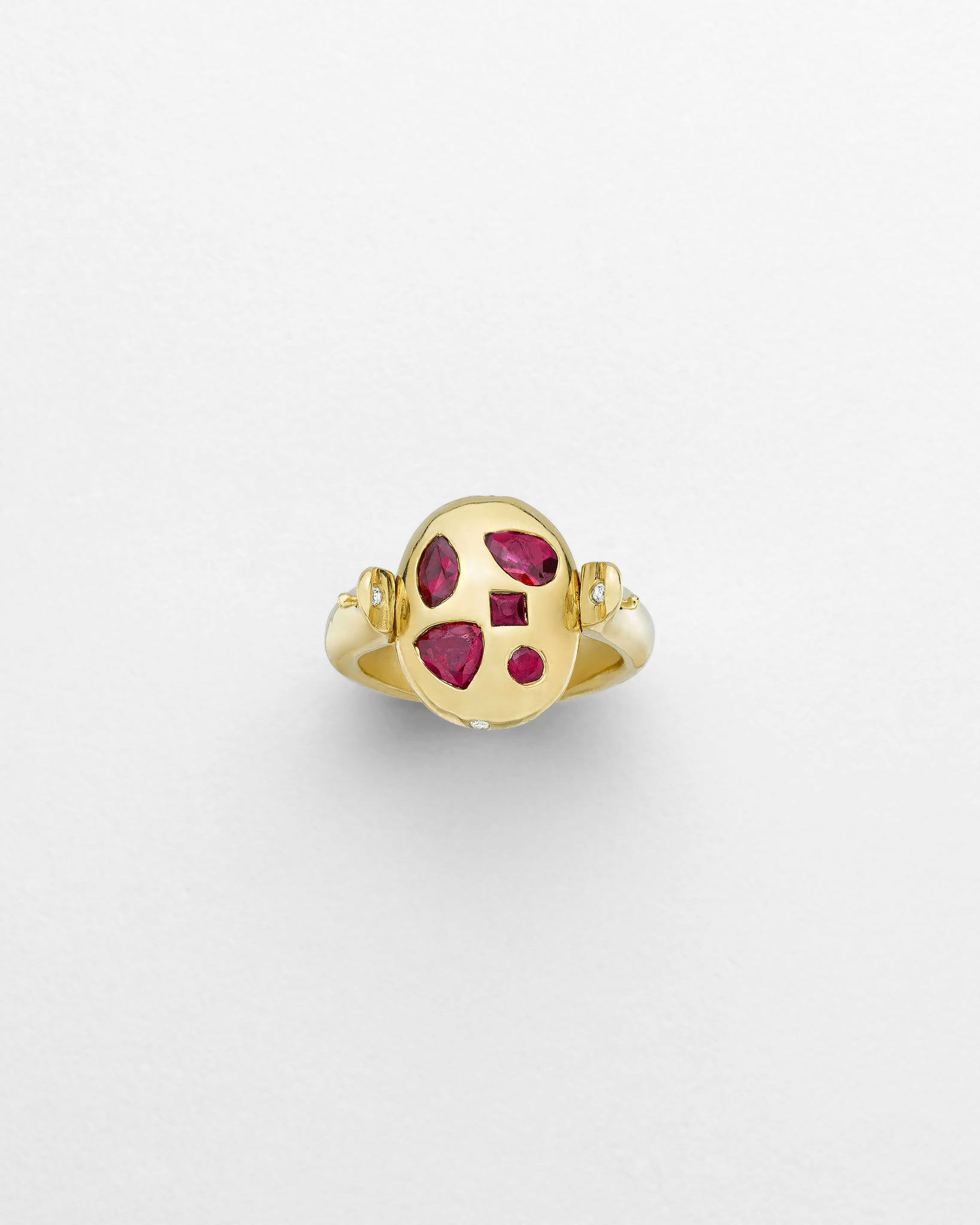 Ruby Flipside Ring