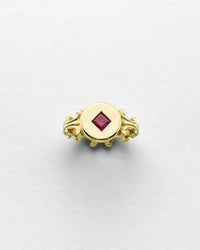 Romantica Classic Ruby Ring