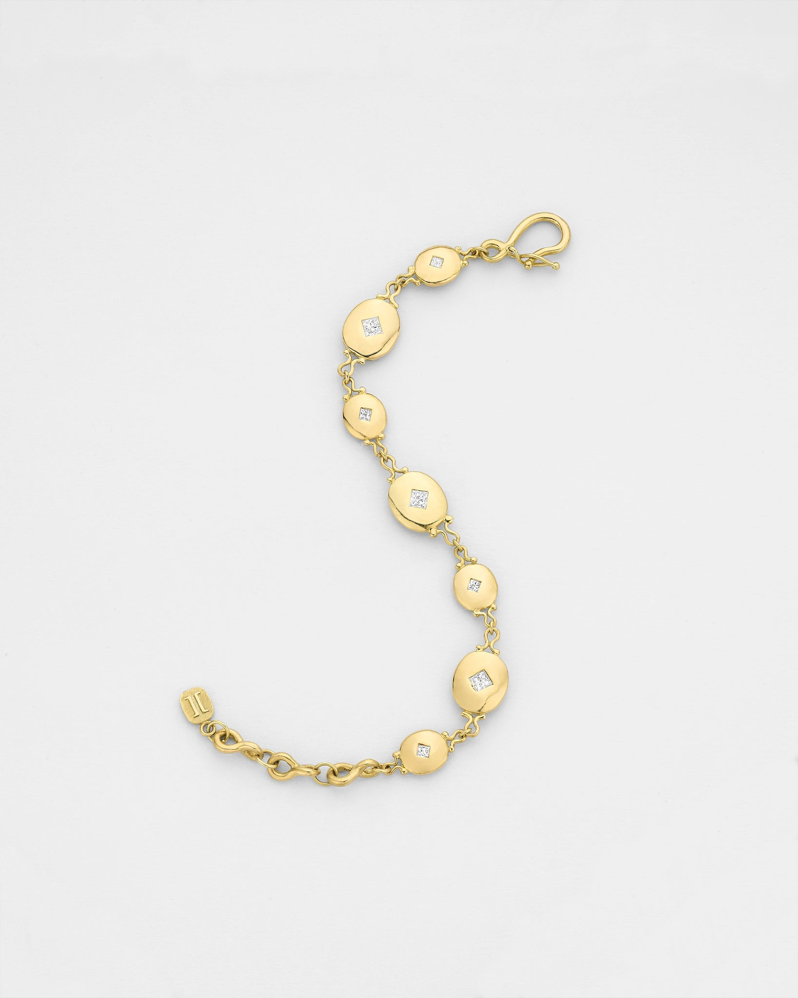 Libertine Oval Medallion Bracelet