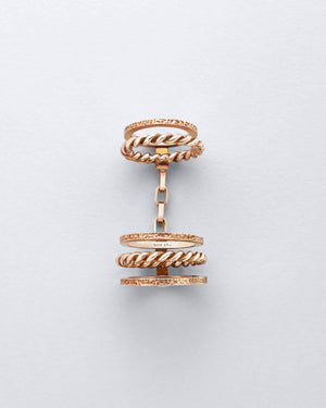 Knuckler Braided Ring