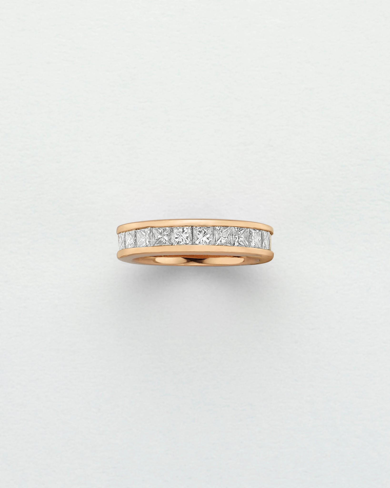 Eternity Diamond Channel Ring