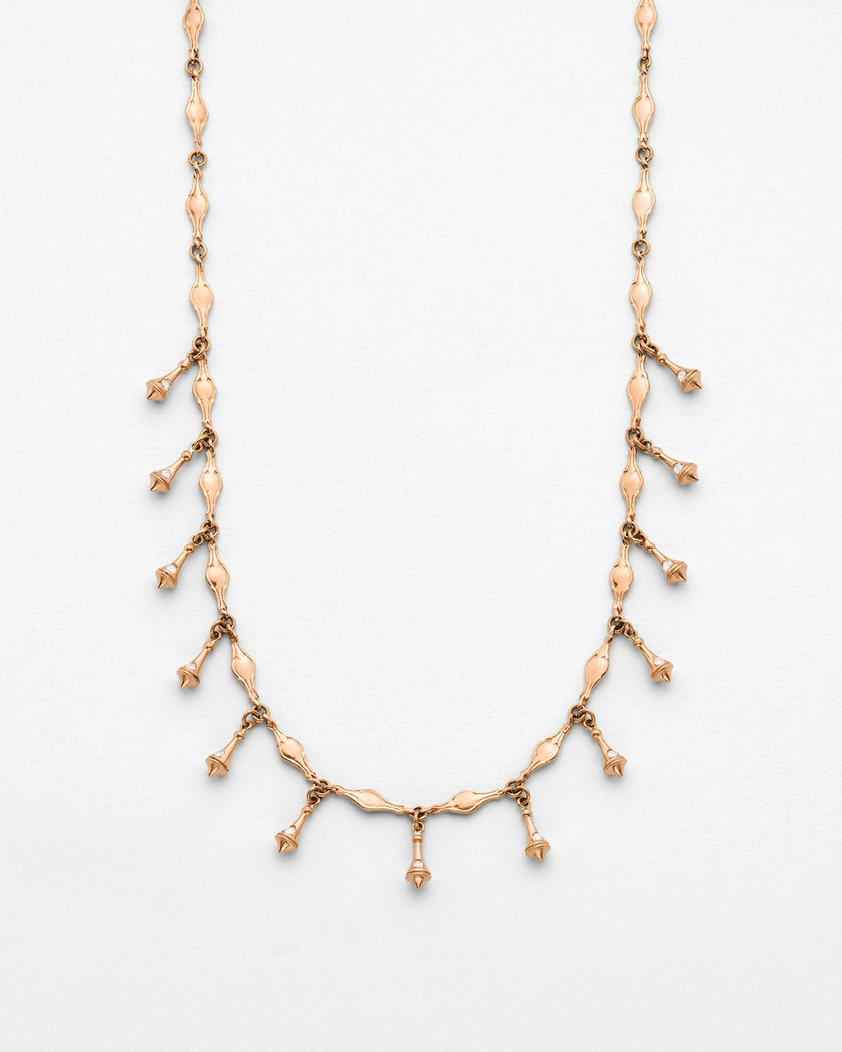 Libertine Multi Pendulum Bell Necklace