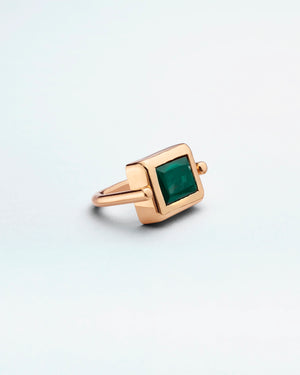 La Crème Hunter Tourmaline Cocktail Ring
