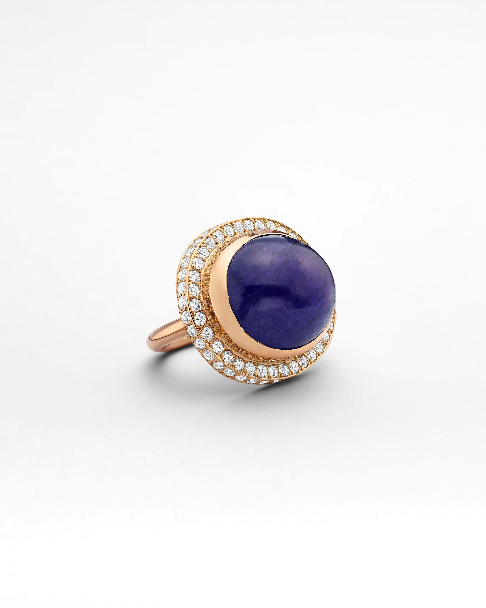 La Crème Tanzanite Cocktail Ring